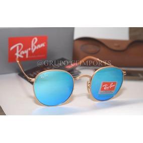 59a1a3c66ea3f Oculos Rayban Redondo Espelhado Ray Ban Round - Óculos De Sol no ...
