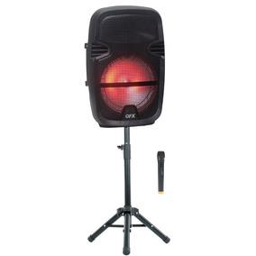 Bafle Amplificado 8 Pulgadas Tripie Y Microfono 3600w Blueto