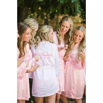 Batas De Seda Para Novias-vestido De Novias- Importadas