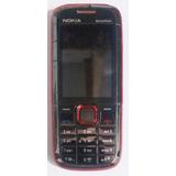 Nokia 5130 Xpressmusic Preto/vermelho Original Semi Novo