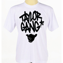Camisa Camiseta Taylor Gang Rap Rock Manga Curta
