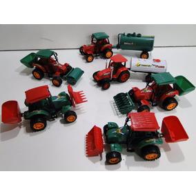 06 Trator Agricultura Empilhadeira Tanque Plantadeira Retro