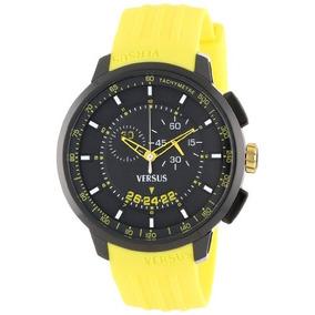 Reloj Versus By Versace Sgv040013 Amarillo/negro