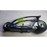 Moto Com Luzes Max Steel Mattel Ykw 40 Cm Comprimento.