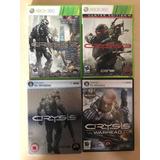 Coleccion De Crysis Para Pc Y Xbox 360