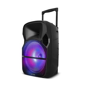Caixa Som Amplificadora 12 150 W Led Sd Usb Bluetooth Sp259