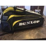 Bolso Para Tennis, Raqueta Y Pelotas... Marca Dunlop