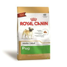 Ração Royal Canin Adultos Pug 7.5kg + Brinde