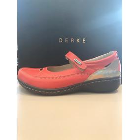 Zapato Guillermina Cuero Confort Gondolino Derke