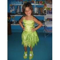 Disfraz Campanita Tinkerbell De 5 A 7 Años