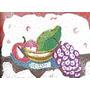 Lámina 45x30 Cm - Cocina Y Alimentos - Decoración Con Frutas