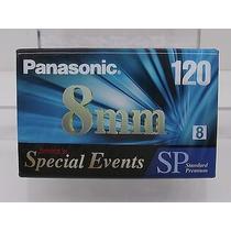 Fita Panasonic 8mm 120 Para Filmadora Standard Premium Nova