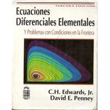 Ecuaciones Diferenciales Elementales- Edwards/penney-3ra Ed