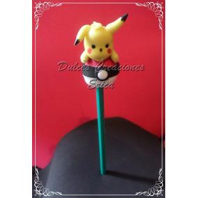 Lapices Pokemon Go Souvenirs Lapices Con Adorno Pikachu