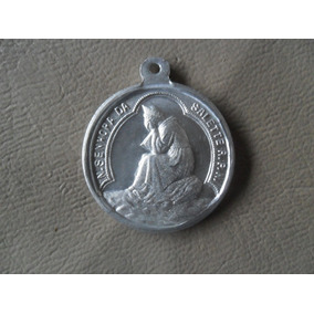 Medalha Sacra Nossa Senhora Da Sallete Rpn Dl55