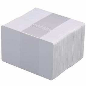 Paquete 500 Tarjetas De Pvc Cr80 Blancas P/ Imp Zebra Fargo