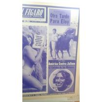 Periódico Antiguo El Figaro Eloy Cavazos 1971
