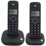 Telefone Sem Fio Duplo Motorola Moto500id C/ Bina Bi-volt