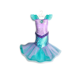 Vestido Disfraz La Sirenita Modelo 2018 Disney Store!