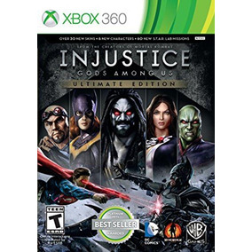 Injustice Gods Among Us - Ultimate Edition Xbox 360 Midia Fi