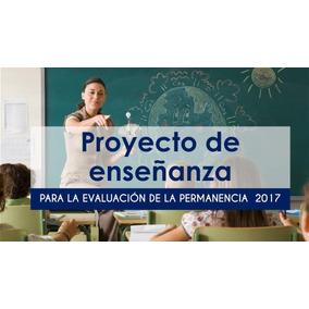 Proyecto De Enseñanza, Español Y Matemáticas Evaluación Doc.