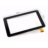 Tela Vidro Touch Tablet Dl Lcd075 86vs Preto 7 Polegadas Rj