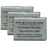 Borradores Moldeables Kneaded Prismacolor Set De 3