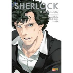 Sherlock - Mangá - Volume 03 Em Português - Panini