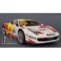 Ferrari 458 Challenge Modificado Hot Wheels Elite Esc. 1/18
