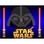 Kit Imprimible Star Wars, Invitaciones, Cajitas, Fiesta