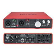Focusrite Scarlett 6i6 Placa De Audio Interfaz