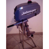 Motor Fuera De Borda Johnson 3.3hp Año 2000 Impecable $13200