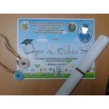 Medallas Y Diplomas De Promoción Preescolar Y Otros