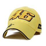 Frete Gratis Boné Valentino Rossi Moto Gp Vr 46 Amarelo