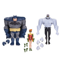 Batman Robin & Mutant Leader Aninated Serie Dc Collectibles