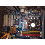 Combo Placa Gigabyte Gam52ls3p Procesador 2.70 + 4gb Ram
