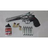 Crosman Sr357 Revolver Co2 Fullmetal + 1500 Municiones