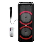 Parlante Torre Bluetooth Portátil Ring Luces Aiwa Aw-t506r