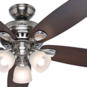Ceiling fan light kit en mercado libre mxico hunter fan 52 brushed nickel ceiling fan with light kit and aloadofball Images