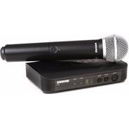 Shure Sistema De Microfono Inalambrico Vocal Blx24 C/pg58