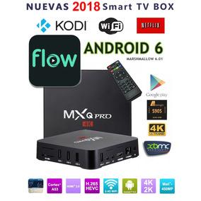 Convertidor Smart Tv Pc Box Mxq Pro 4k Wifi Flow Netflix