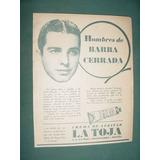 Publicidad Antigua Jabones La Toja Crema Afeitar Barba Cerra