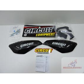 Protetor De Mão Circuit Vector Preto Titan Cb Cbx Xre Bros