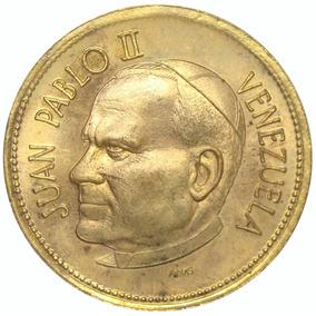 Medalla 1ra Visita Del Papa Juan Pablo Ii A Venezuela 1985