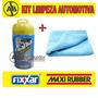 Toalha Magica + Pano Microfibra Kit Limpeza Automotiva