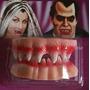 Dentadura Vampiro Hallowen Presas Dracula Dia Bruxa Fantasia