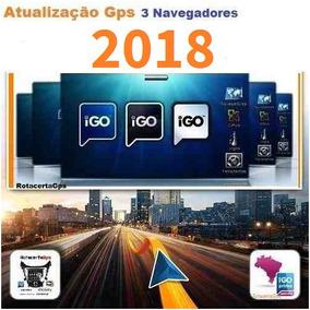 Atualização Gps 2018 Igo Amigo,igo8,igo Primo Completo