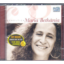 Cd Maria Bethânia Romântica - Novo Lacrado Raro