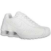 Nike Shox Classic 4 Molas Todo Branco Sucesso De Vendas !!!