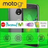 Motorola G5 32g + Detector De Huellas + Carga Rapida + Envio